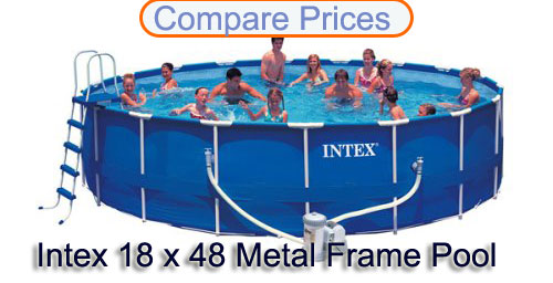 Intex 18 x 48 Metal Frame Pool