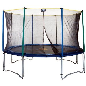 Pure Fun 12 Foot Trampoline And Enclosure Set