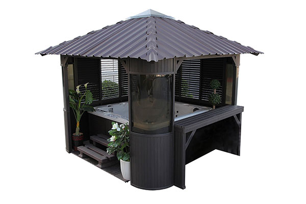 The best hot tub gazebo kits.