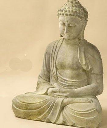Buddha statue garden
