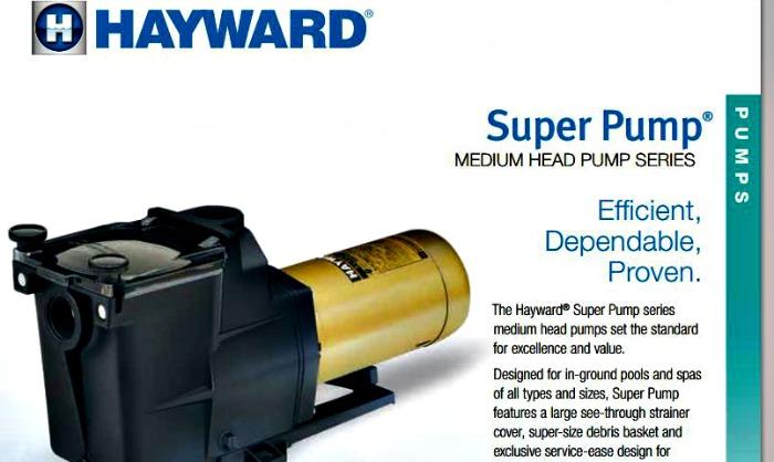 Hayward Super Pump Specs