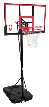 spalding 48 portable basketball hoop