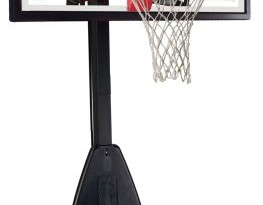 spalding 54 inch portable basketball system