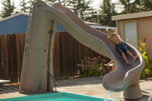 sr smith turbo twister swimming pool slide