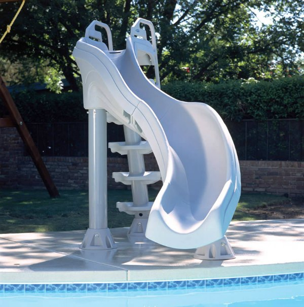 front view interfab xstream 2 pool slide