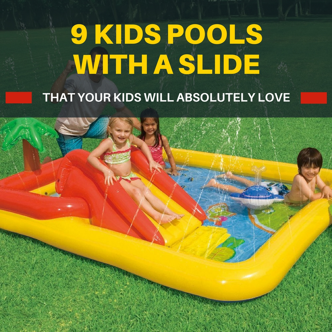 Kids Swimming Pools With Slides With Lots Of Fun Features