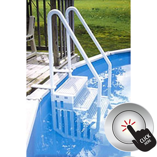 Heavy duty pool ladder with high ratings