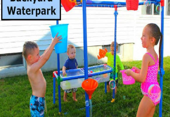 6 in 1 Backyard Waterpark