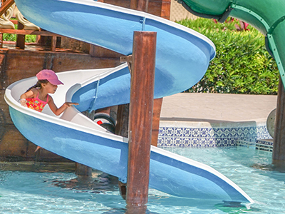 Got an inground pool? You just might want one of these slides!