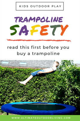 Are trampolines safe? How come they are considered dangerous? Here's everything you need to know about the pros and cons of owning a backyard trampoline and the safety measures you can do to keep your children safe.