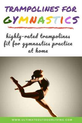Trampolines for gymnastics practice at home. A list of the best rectangular trampolines for gymnasts. Long, bouncy and durable.