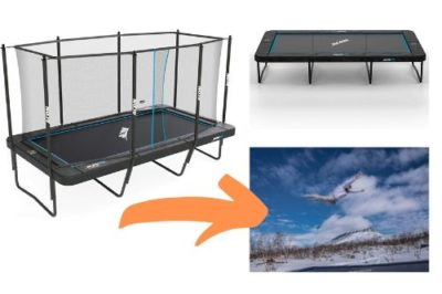Acon rectangular trampolines - top rated